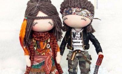 Куклы тряпиенсы + выкройка
