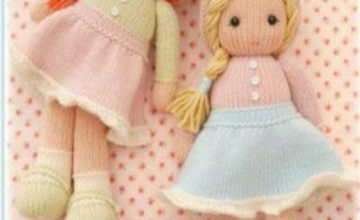 Вязаные куклы МК