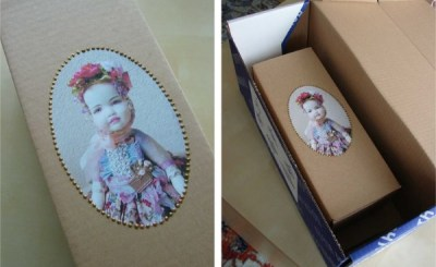 Упаковка для куклы