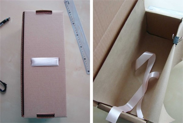 коробка для куклы из картона