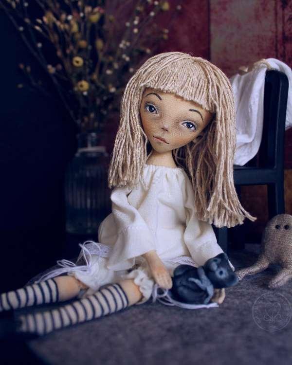 Кукла Бессонница. Мастер: Елена Хайдукова