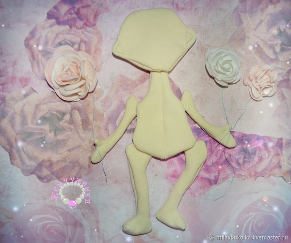 шьем куклу из ткани