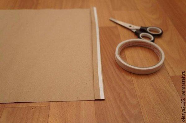 Как сделать упаковку для кукол из крафт бумаги
