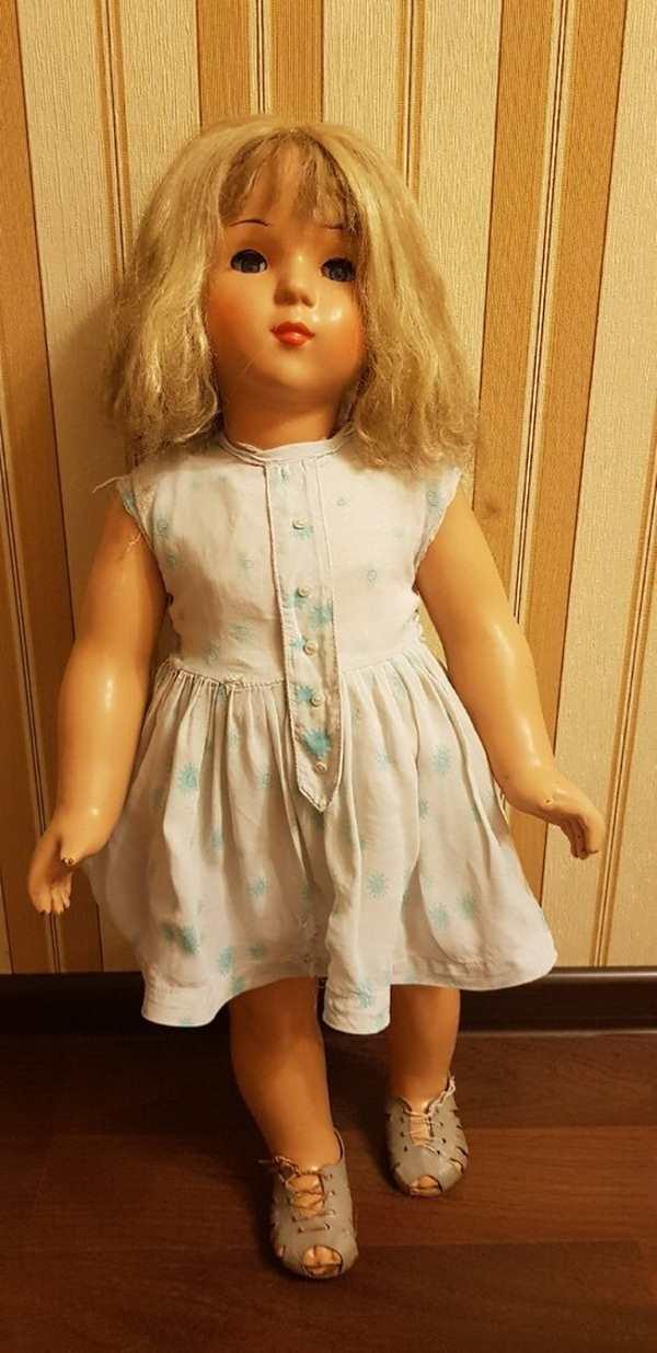 кукла Ирина ссср