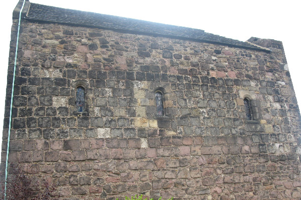 St. Margaret's chapel showing variety of stone work
