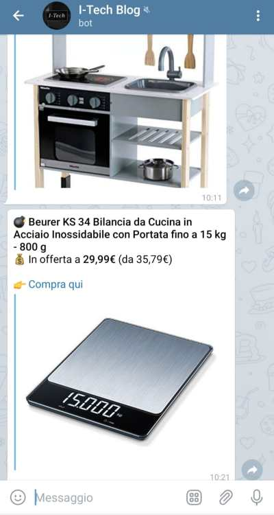 Bot offerte Amazon