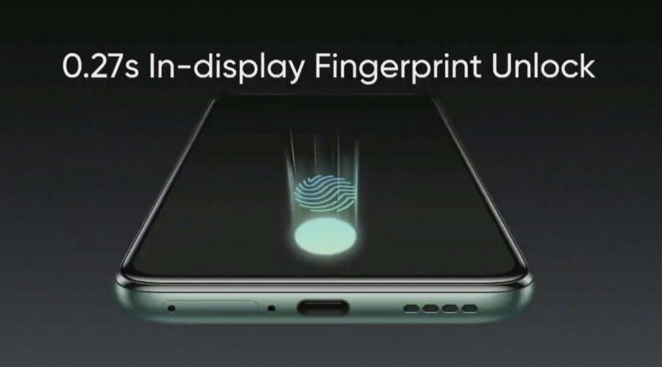 Display Realme X50 Pro