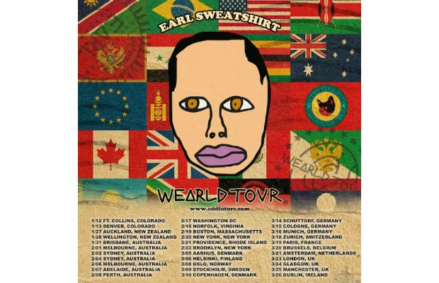 earl sweatshirt uk gigs