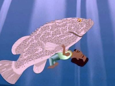 Kanye as a gay fish
