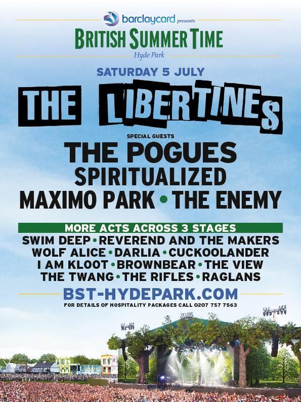 Libertines Hyde Park