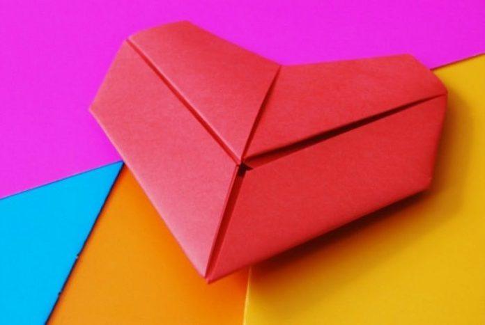 Καρδιά origami
