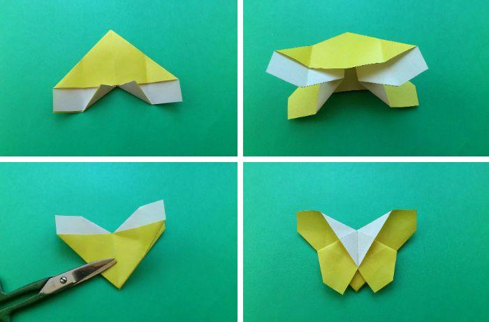Бабочка-закладка: шаги 9-12