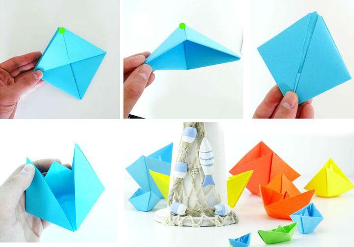 Phased Origami Boat құрастыруы