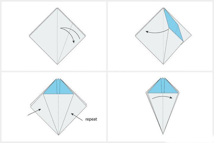 Мастер-класс по сборке хризантемы-оригами