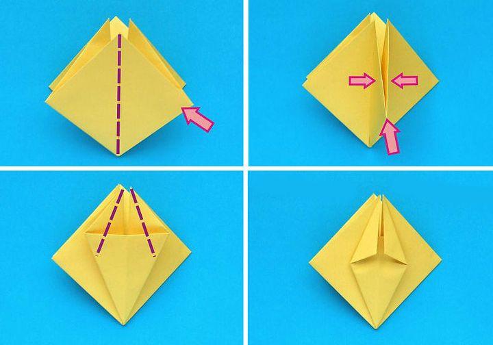 Мастер-класс по сборке нарцисс-оригами