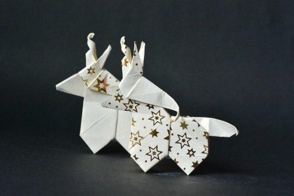 Единорог-оригами: мастер-класс с фото и видеоуроками