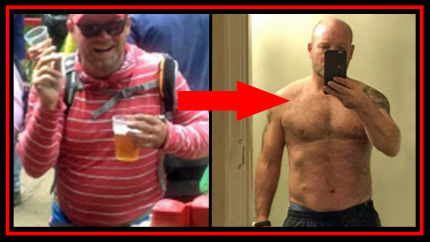 Paul Before and After Bootcamp