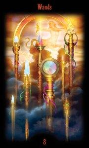 8 Жезлов Таро Божественного Наследия