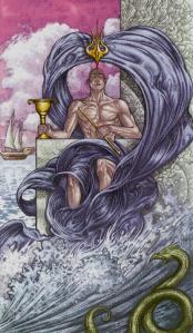 Таро Царство Фэнтези изображение Король Кубков