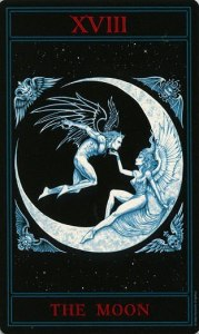 Таро Варго Изображение Аркана 18 Луна