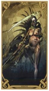 Аркан Смерть из Таро Ночного Солнца