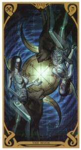 Аркан Луна из Таро Ночного Солнца