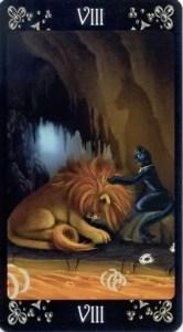 8 Сила Таро Черных Котов