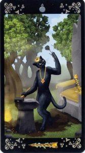 Король жезлов Таро Черных Котов