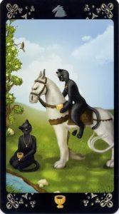 Рыцарь Кубков Таро Черных Котов