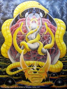 Аркан 17 Звезда The Golden Serpent Tarot