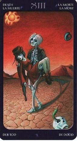 13 Смерть (Death) Таро Семи Звезд (Mystical Manga Tarot)