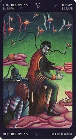 5 Жрец (The Hierophant) Таро Семи Звезд (Mystical Manga Tarot)