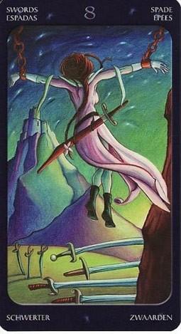 8 Мечей Таро Сладкие Сумерки (Tarot of the Sweet Twilight)