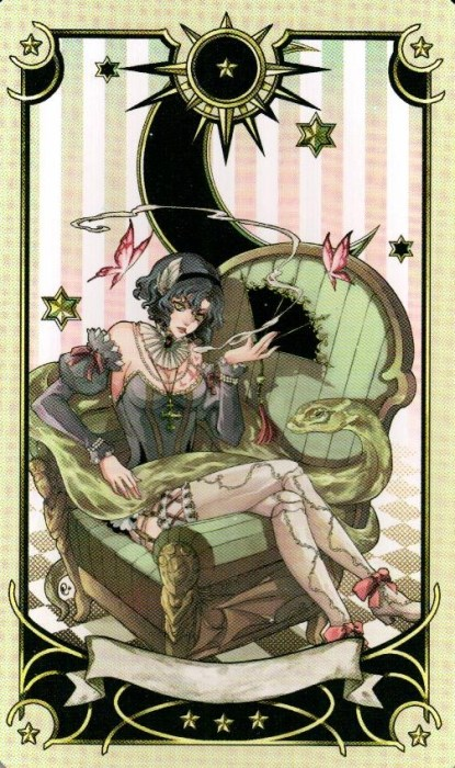 Экстра-карта-1-Таро-Семи-Звезд-Mystical-Manga-Tarot