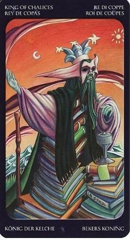 король Кубков Таро Сладкие Сумерки (Tarot of the Sweet Twilight)