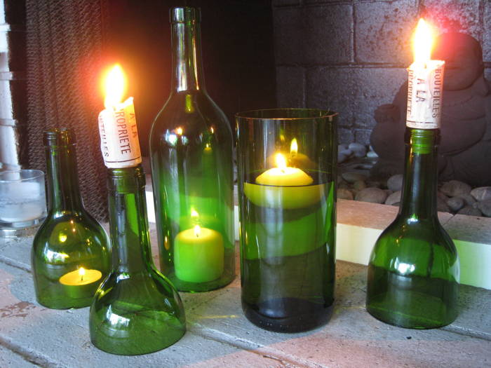 Six Amazing Ways To Reuse Your Wine Bottles