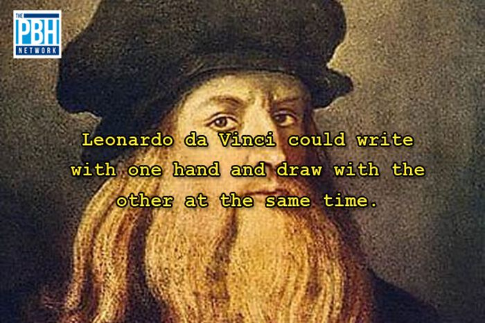 Leonardo Da Vincis Amazing Skill