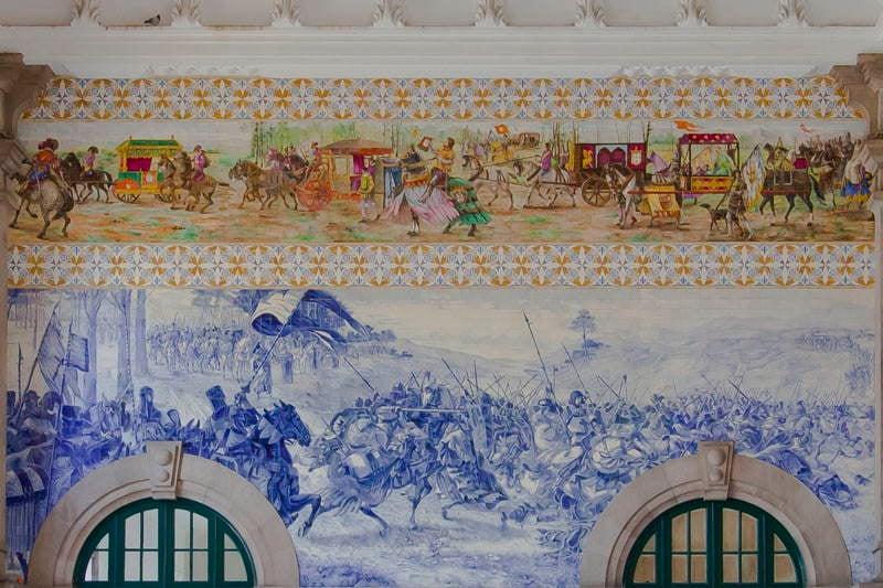 Estaciones de tren de Sao Bentao Wall Art
