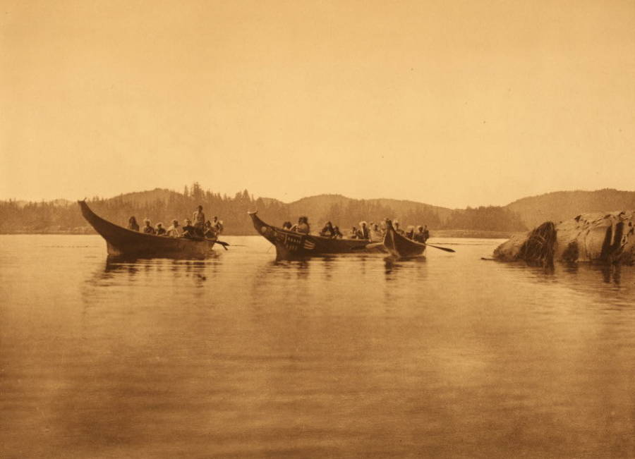 First Nations Canoes
