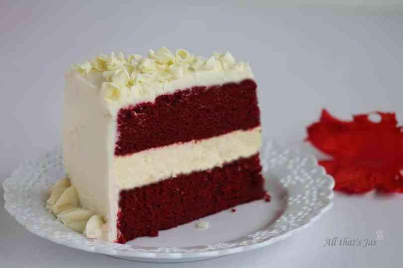 red velvet cheesecake | All that's Jas
