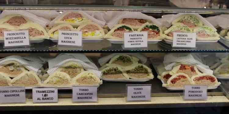 Venetian sandwiches