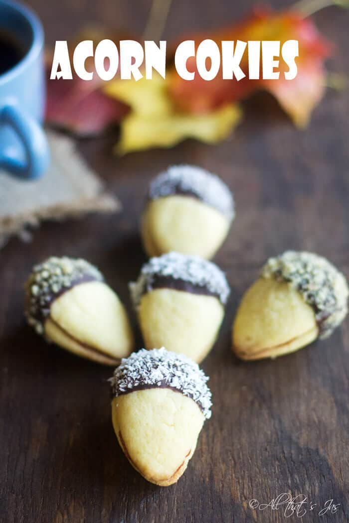 Acorn Cookies - All that's Jas