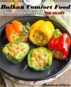 Balkan comfort food cookbook - About Jas