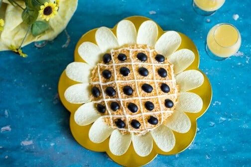 Sunflower Chicken Salad - All that's Jas