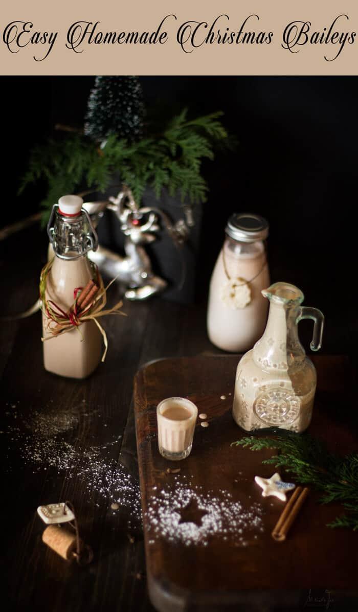 Easy Homemade Christmas Baileys - All that's Jas