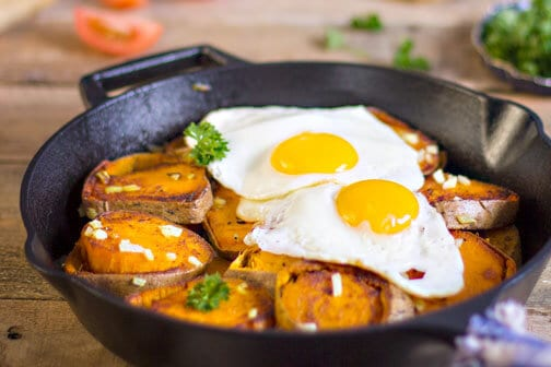 Easy German Pan-Fried Potatoes and Eggs