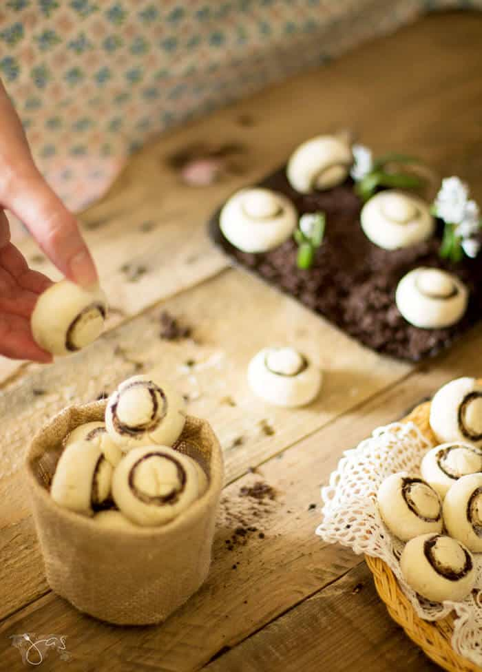 Fun and Easy Mushroom Shortbread Cookies