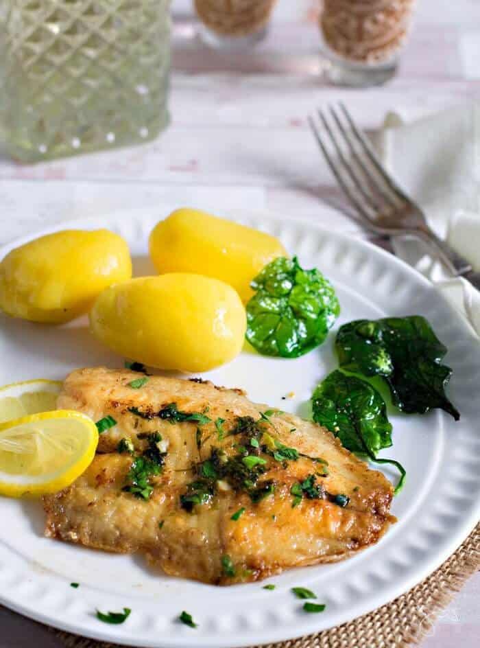 Belgian style whitefish