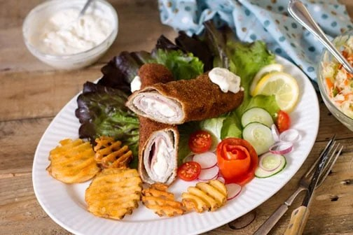 Karageorge Schnitzel - Serbian Famous Stuffed Cutlet Recipe