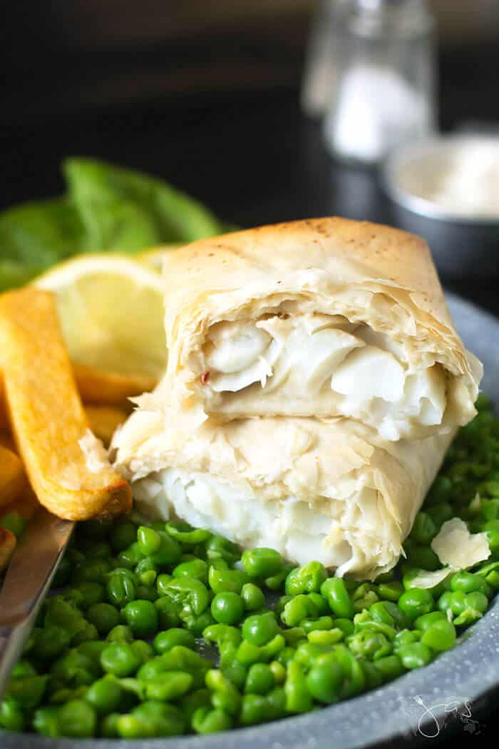 Fillo pastry fish fry recipe for St. Patrick's Day